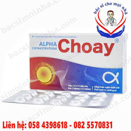 Alpha choay là thuốc gì?