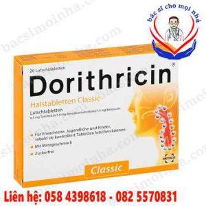 Dorithricin là thuốc gì?