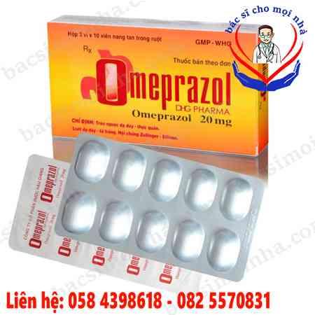 Omeprazol là thuốc gì