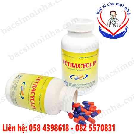 thuốc tetracyclin 500mg