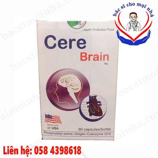cere brain có tác dụng gì