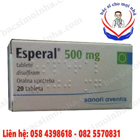 Esperal là thuốc gì