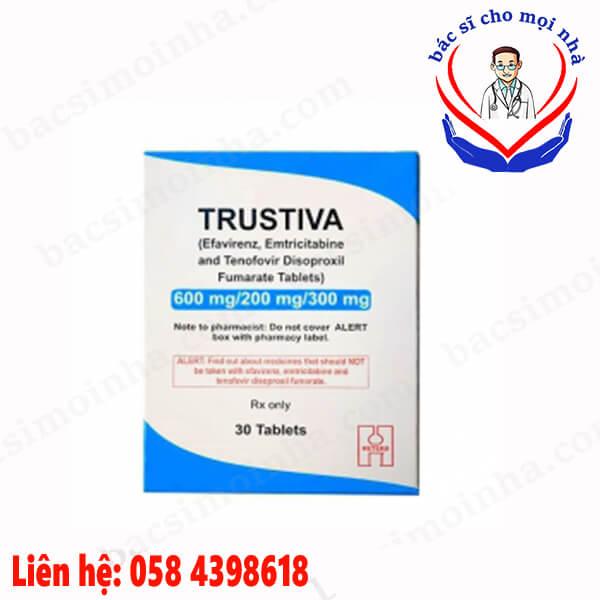 Thuốc điều trị HIV trustiva