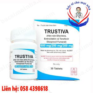 Thuốc trustiva giá bao nhiêu