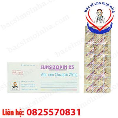 thuốc sunsizopin